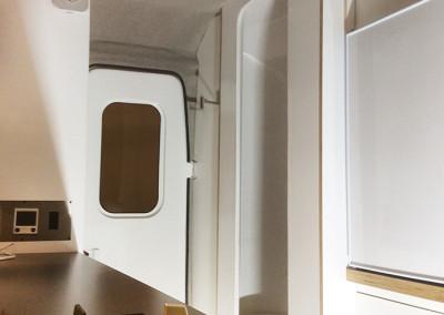 Nest Caravans - Interior Finished II: Composite Approach, Composites Manufacturer & Fabrication, Camper