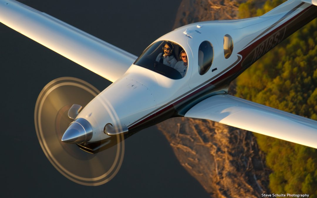 Lancair Evolution Aircraft