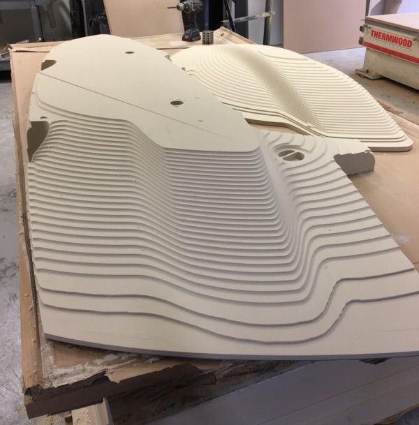 MDF mold tooling plug aircraft - Composite Approach