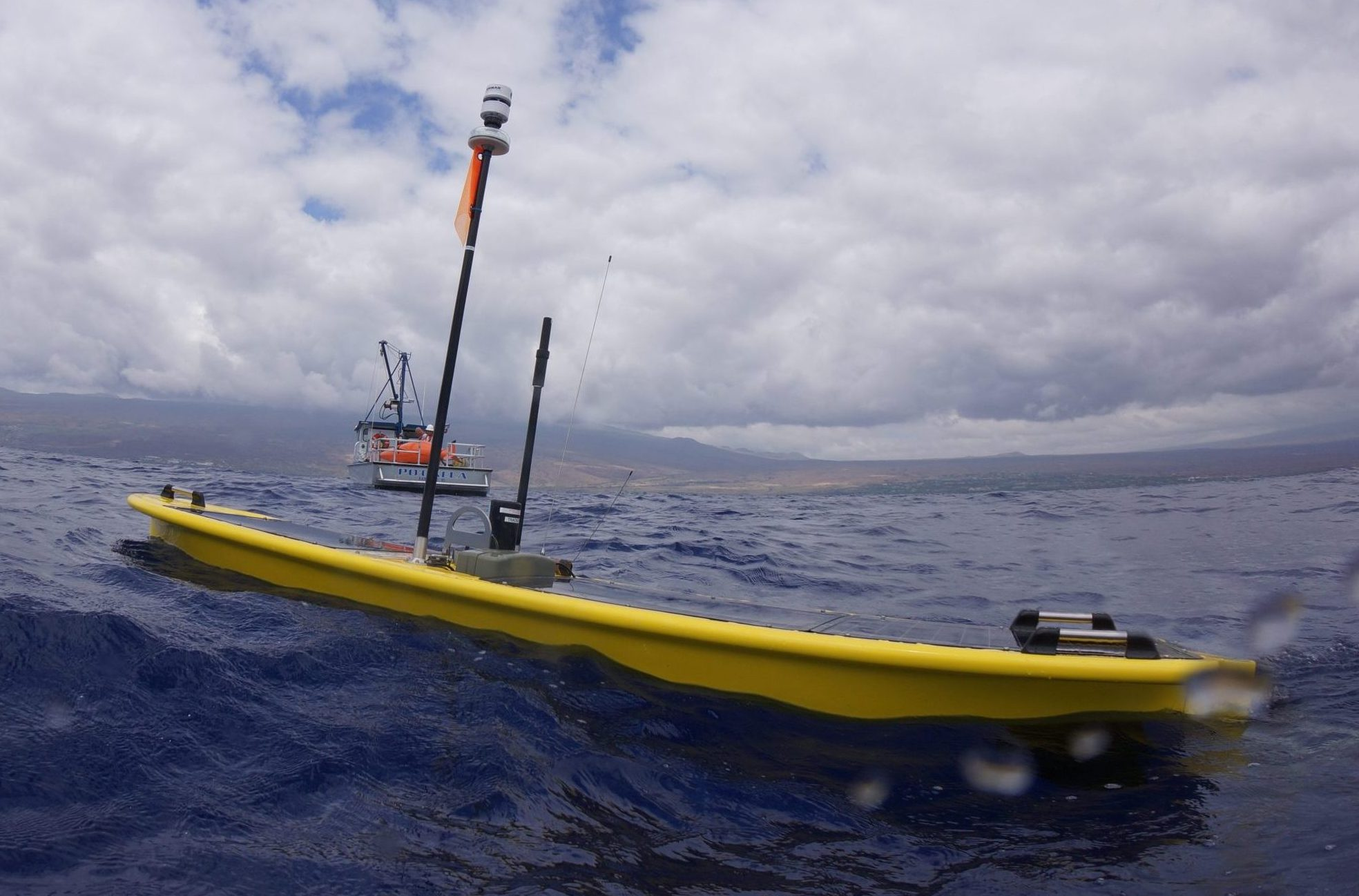 Liquid Robotics Inc SV3 marine float drone ocean research